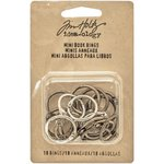 Advantus - Tim Holtz - Idea-ology Collection - Mini Book Rings
