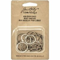 Idea-ology - Tim Holtz - Mini Book Rings