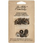 Advantus - Tim Holtz - Idea-ology Collection - Fluted Fasteners