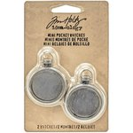 Advantus - Tim Holtz - Idea-ology Collection - Mini Pocket Watches