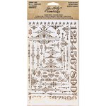 Advantus - Tim Holtz - Idea-ology Collection - Remnant Rubs - Gilded Accents