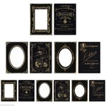 Advantus - Tim Holtz - Idea-ology Collection - Mini Cabinet Cards - Sophisticate