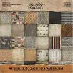 Advantus - Tim Holtz - Idea-ology Collection - Halloween - 8 x 8 Paper Stash - Materialize