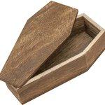 Advantus - Tim Holtz - Idea-ology Collection - Halloween - Vignette Box Coffin