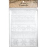 Advantus - Tim Holtz - Idea-ology Collection - Christmas - Alpha Parts - Frozen