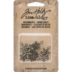 Advantus - Tim Holtz - Idea-ology Collection - Christmas - Adornments - Snowflakes