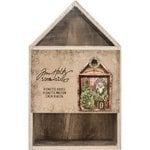 Advantus - Tim Holtz - Idea-ology Collection - Christmas - Vignette Box House