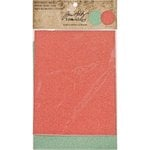 Advantus - Tim Holtz - Idea-ology Collection - Christmas - Deco Sheets - Holiday