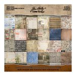 Advantus - Tim Holtz - Idea-ology Collection - 8 x 8 Paper Stash - Etcetera