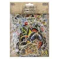 Advantus - Tim Holtz - Idea-ology Collection - Layers - Botanical