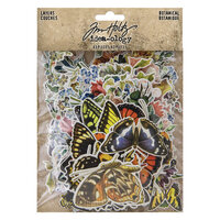 Advantus - Tim Holtz - Idea-ology Collection - Layers - Botanical