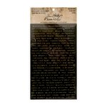 Advantus - Tim Holtz - Idea-ology Collection - Metallic Stickers - Quotations