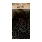 Advantus - Tim Holtz - Idea-ology Collection - Metallic Stickers - Quotations