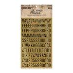 Advantus - Tim Holtz - Idea-ology Collection - Metallic Stickers - Alpha Gold