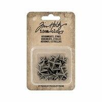 Advantus - Tim Holtz - Idea-ology Collection - Adornments Stars