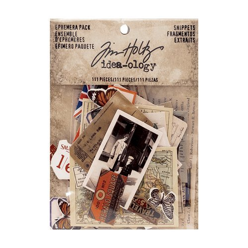 Advantus - Tim Holtz - Idea-ology Collection - Ephemera Pack