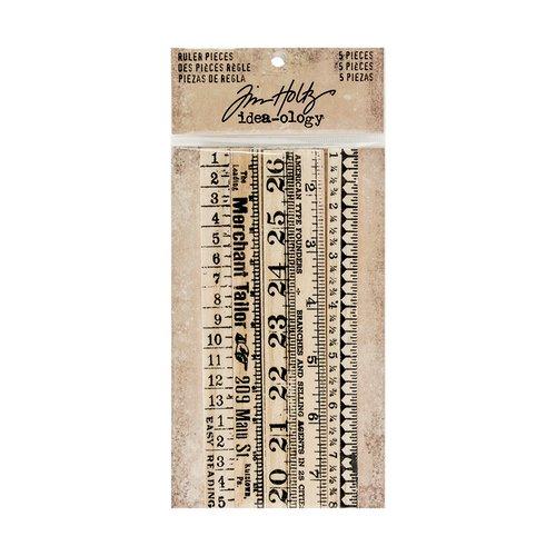 Advantus - Tim Holtz - Idea-ology Collection - Ruler Pieces