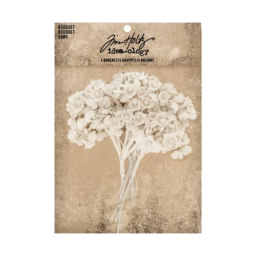 Advantus - Tim Holtz - Idea-ology Collection - Bouquet