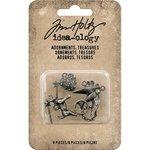 Advantus - Tim Holtz - Idea-ology Collection - Adornments - Treasures