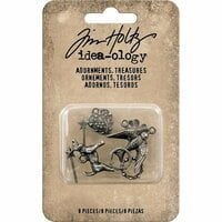 Advantus - Tim Holtz - Idea-ology Collection - Adornments - Treasures
