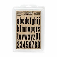 Advantus - Tim Holtz - Idea-ology Collection - Cling Foam Stamps - Block Lower