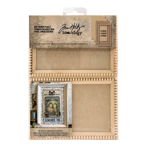 Advantus - Tim Holtz - Idea-ology Collection - Mini Framed Panels