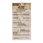 Advantus - Tim Holtz - Idea-ology Collection - Clippings Stickers