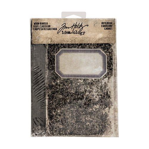 Advantus - Tim Holtz - Idea-ology Collection - Worn Binder - Notebook