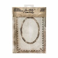 Advantus - Tim Holtz - Idea-ology Collection - Worn Binder - Tattered