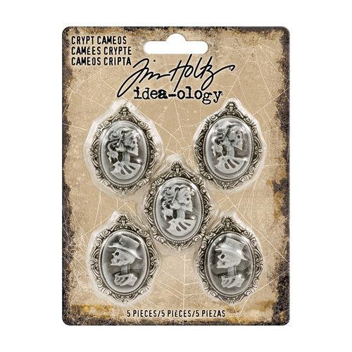 Advantus - Tim Holtz - Idea-ology Collection - Crypt Cameos