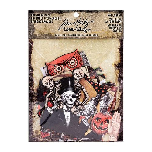 Advantus - Tim Holtz - Idea-ology Collection - Ephemera Pack - Halloween