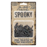 Advantus - Tim Holtz - Idea-ology Collection - Typography - Halloween
