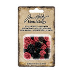 Advantus - Tim Holtz - Idea-ology Collection - Heirloom Roses - Halloween