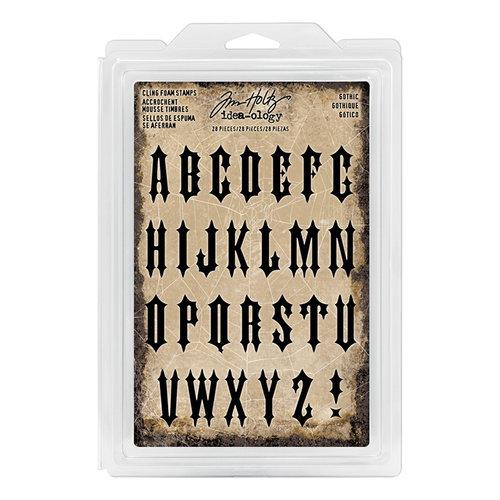 Advantus - Tim Holtz - Idea-ology Collection - Foam Stamps - Gothic
