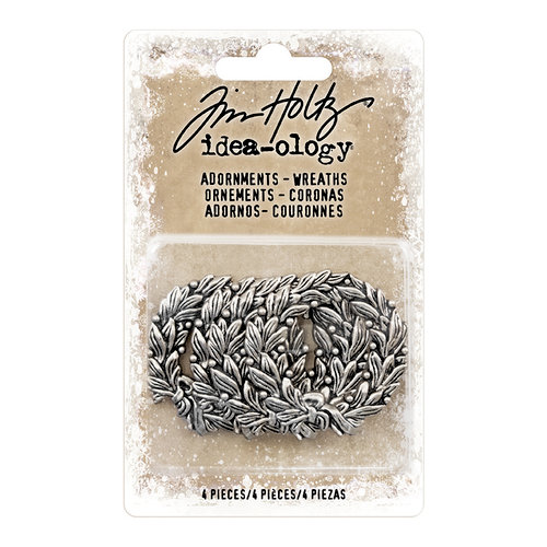 Advantus - Tim Holtz - Idea-ology Collection - Christmas - Adornments - Wreaths