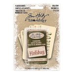 Advantus - Tim Holtz - Idea-ology Collection - Christmas - Holiday Flashcards