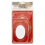 Advantus - Tim Holtz - Idea-ology Collection - Christmas - Cabinet Card Frames
