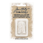 Advantus - Tim Holtz - Idea-ology Collection - Transparent Tiles - Christmas