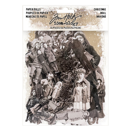Advantus - Tim Holtz - Idea-ology Collection - Paper Dolls - Christmas