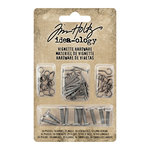 Advantus - Tim Holtz - Idea-ology Collection - Christmas - Vignette Hardware Pack