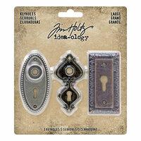 Idea-ology - Tim Holtz - Large Keyholes