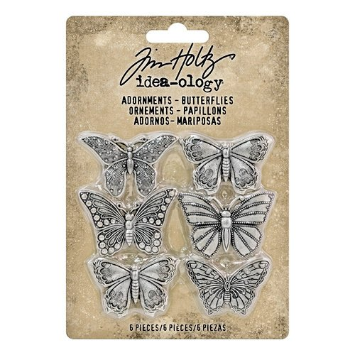 Idea-ology - Tim Holtz - Adornments - Butterflies