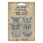 Advantus - Tim Holtz - Idea-ology Collection - Adornments - Butterflies