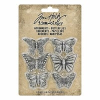 Idea-ology - Tim Holtz - Adornments - Butterflies