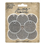 Advantus - Tim Holtz - Idea-ology Collection - Quote Tokens