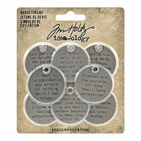 Idea-ology - Tim Holtz - Quote Tokens