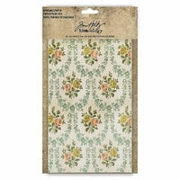 Idea-ology - Tim Holtz - Worn Wallpaper - 24 Sheets