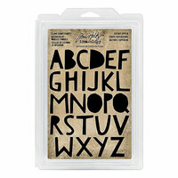 Idea-ology - Tim Holtz - Foam Stamps - Cutout Upper