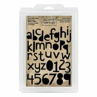 Idea-ology - Tim Holtz - Foam Stamps - Cutout Lower