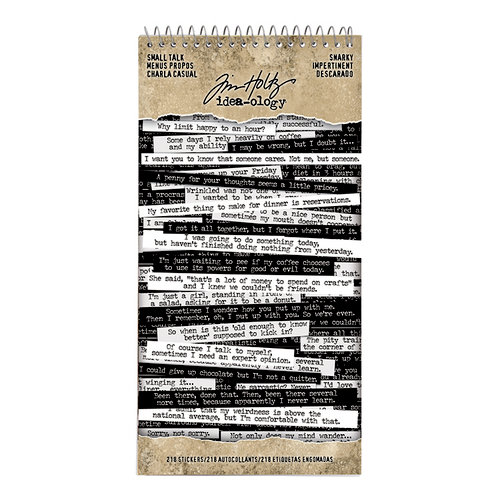 Idea-ology - Tim Holtz - Small Talk - Snarky